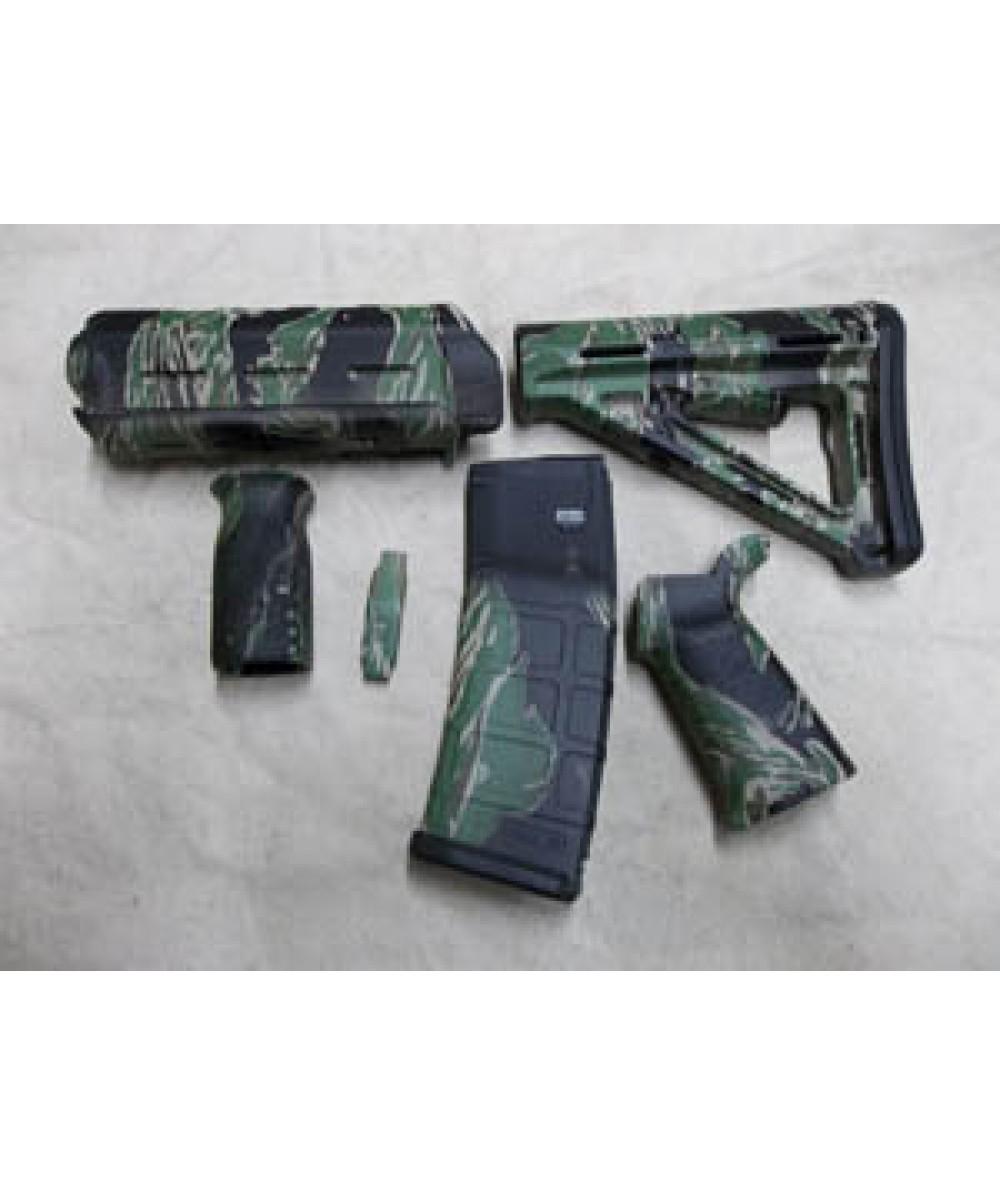 Matrix Diversified Ind Magpul Milspec Ar 15 Furniture Kit Tiger Stripe