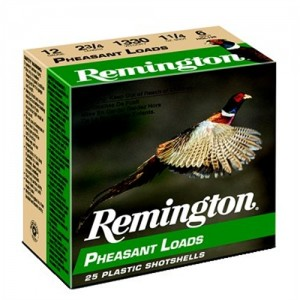 "Remington Pheasant .12 Gauge (2.75"") 6 Shot Lead (250-Rounds) - PL126"