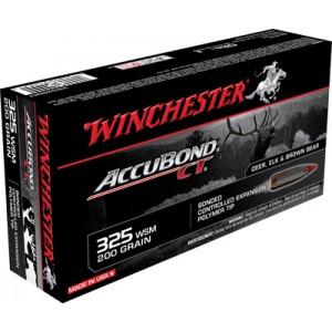 Winchester Supreme .325 Winchester Short Magnum AccuBond CT, 200 Grain (20 Rounds) - S325WSMCT