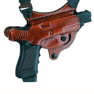 107 Flatesider XR7 Shoulder Holster Color: Tan Gun: Smith & Wesson M&P Compact .40 Hand: Right - H107TPRU-MP 40C
