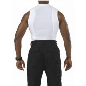 5.11 Tactical Sleeveless Men's Holster Shirt in White - Large