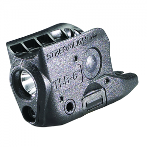 Black, subcompact pistol light, Includes LED/laser module and body housings for all TLR-6 models