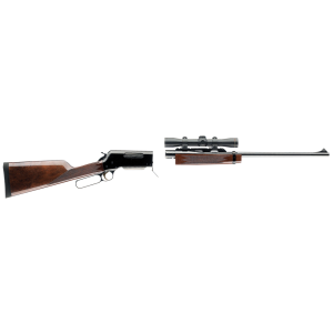 """Browning Lightweight Take-Down .30-06 Springfield 4-Round 22"""" Lever Action Rifle in Blued - 34011126"""