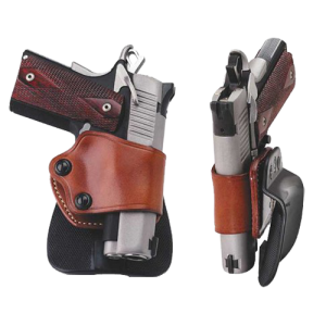 """Galco International Yaqui Right-Hand Paddle Holster for Beretta 92, 96/Taurus 92, 99, 100, 101 in Black (5"""") - YP202B"""