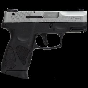 """Taurus 111 9mm 12+1 3.2"""" Pistol in Polymer (Millenium G2) - 1111039G212"""