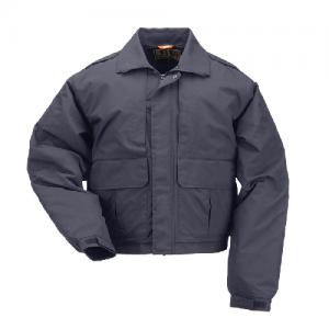 5.11 Tactical Double Duty Men's Full Zip Jacket in Dark Navy - Small