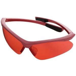 Champion Shooting Glasses w/Pink Frame/Rose Lens 40605