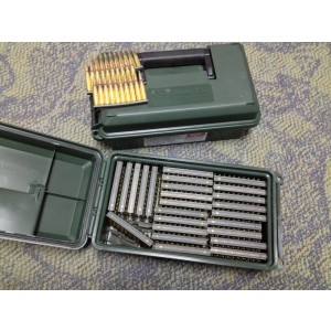 Federal Cartridge .223 Remington/5.56 NATO Full Metal Jacket Green Tip, 62 Grain (500 Rounds) - M855-500-CAN