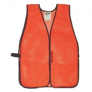 Radians Safety Vest in Mesh Net Orange - One Size Fits Most