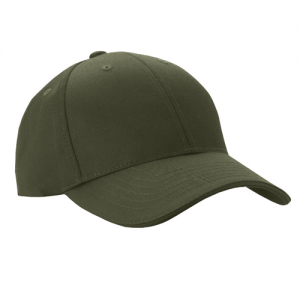 5.11 Tactical Uniform Cap in TDU Green - One Size Fits Most