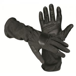 Operator Glove W/ Goat Skin Size: Large Color: Black