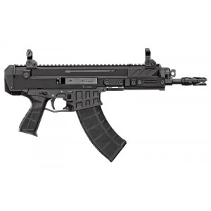 "CZ Bren 2  7.62x39mm 30+1 14"" Pistol in Black Aluminum (Manual Safety) - 91462"