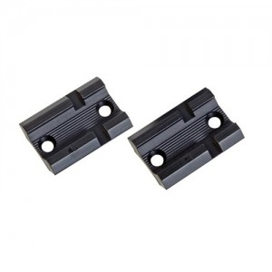 Weaver Matte Black Top Base Pair For Browning Bar Auto 48470