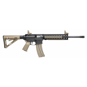 "Smith & Wesson M&P 15-22 .22 Long Rifle 25-Round 16"" Semi-Automatic Rifle in Flat Dark Earth (FDE)/Black - 811035"