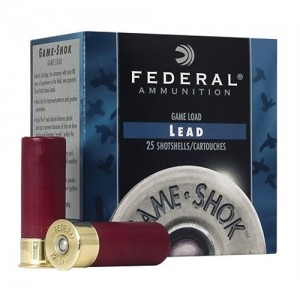 "Federal Cartridge Game-Shok High Brass .16 Gauge (2.75"") 7.5 Shot Lead (250-Rounds) - H16375"