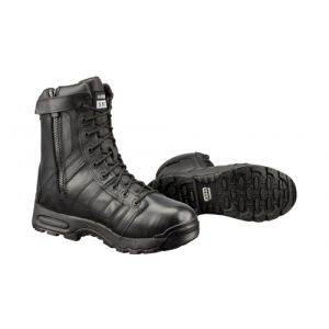 AIR 9  SIDE ZIP MT BLK  AIR M.T. TACTICAL WATERPROOF SIZE 6 BLACK