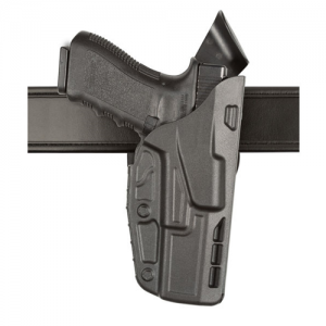 "Safariland 7TS ALS Low-Ride Level I Right-Hand Belt Holster for Glock 17C in STX Basketweave (4.5"") - 7390-83-481"