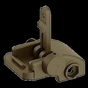 Blackhawk 71BU01DK AR-15 Folding Rear Back Up Iron Sight Flat Dark Earth