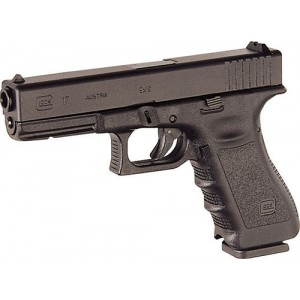 "Glock 17 9mm 10+1 4.49"" Pistol in Black (Gen 4) - PG1750201"
