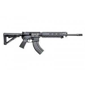 "Patriot Ordinance Factory P-15 7.62X39 30-Round 16.5"" Semi-Automatic Rifle in Black - 816"