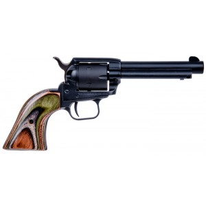 """Heritage Rough Rider Small Bore .22 Long Rifle 6-Shot 4.75"""" Revolver in Black Satin - RR22MBS4"""