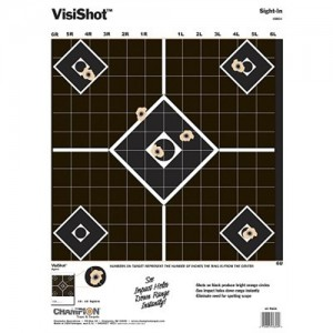"""Champion 10 Pack 13""""x16"""" Sight In Targets 45804"""