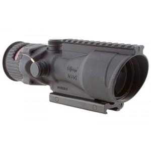 Trijicon Acog Rifle Scope, 6x 48, Red Chevron Reticle .308, Flattop, Ta75 Adapter, Matte Finish Ta648-308h