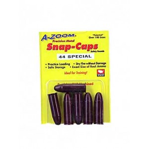 A-zoom Snap Caps, 44 Special, 6 Pack 16121