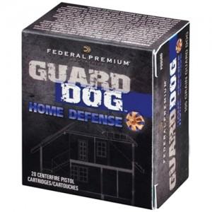 Federal Cartridge Guard Dog Home Defense .45 ACP Full Metal Jacket, 165 Grain (20 Rounds) - PD45GRD