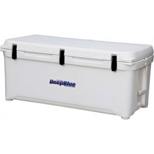 Engel USA DeepBlue Cooler 123 Quart Storage Cooler 8-10 Day Cooling Time White ENG123