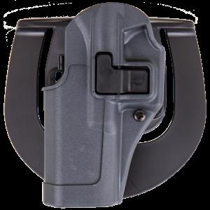 "Blackhawk Serpa Sportster Left-Hand Paddle Holster for Glock 20, 21 in Grey (5"") - 413513BKL"