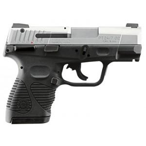 """Taurus 24/7 9mm 17+1 3.5"""" Pistol in Stainless Slide/Black Frame (G2 Compact) - 1247099G2C17"""