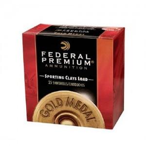 "Federal Cartridge Gold Medal Paper Target .12 Gauge (2.75"") 7.5 Shot Lead (250-Rounds) - TF17575"