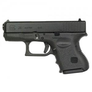"Glock 26 9mm 10+1 3.46"" Pistol in Black (Gen 3) - PI2650201"