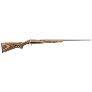 """Ruger 77/22 .22 Hornet 6-Round 24"""" Bolt Action Rifle in Stainless Steel - 7204"""