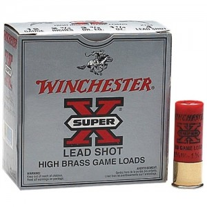 "Winchester Super-X High Brass Game .12 Gauge (2.75"") 4 Shot Lead (250-Rounds) - X124"