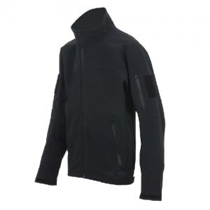 Tru Spec 24-7 Softshell Men's Full Zip Jacket in Black - Medium