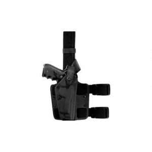 "Safariland 6278 Level 2 Right-Hand Thigh Holster for Glock 17, 22 in STX Black Tactical (4.5"") - 6004-83-121"