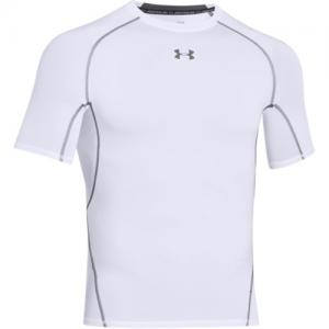 Under Armour HeatGear Men's Undershirt in White - Small