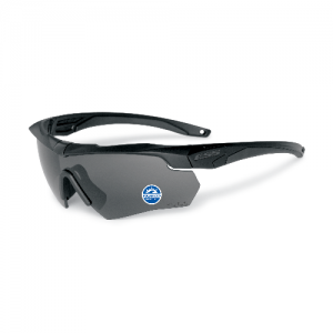 Black frame with a high-impact Polarized Gray lens, Small zippered hard case & microfiber cleaning pouch
