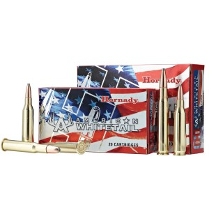 Hornady American Whitetail .270 Winchester Interlock, 130 Grain (20 Rounds) - 8053