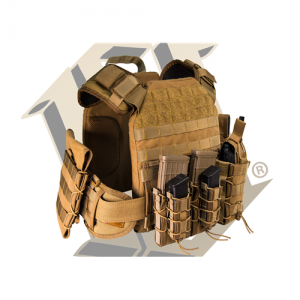 HSG MPC Modular Plate Carrier Bravo Color: Coyote Brown Size: MD / MD