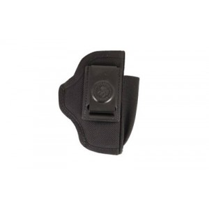 Desantis Gunhide N87 Pro Stealth Right-Hand Belt Holster for Kahr Arms Pm9/40/45 in Black Leather -