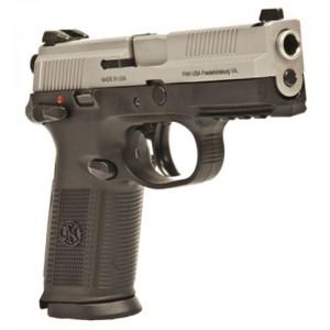 "FN Herstal FNX-9 9mm 17+1 4"" Pistol in Stainless Steel (Manual Safety) - 66826"