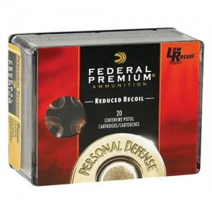 Federal Cartridge Premium Personal Defense .45 ACP Hydra-Shok JHP, 165 Grain (20 Rounds) - PD45HS3H