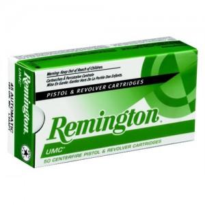 Remington UMC .357 Remington Magnum Jacketed Soft Point, 125 Grain (50 Rounds) - L357M12
