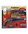 """Traditions FRS18511 1851 Navy Revolver 44BP 7.38"""" Hammer/Blade Walnut Grip Blued"""