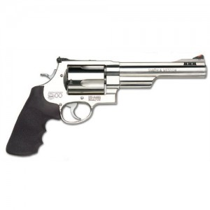 """Smith & Wesson 500 .500 S&W 5-Shot 6.5"""" Revolver in Stainless - 163565"""