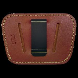 Peace Keeper 035 Belt Slide Inside/Outside Pants Medium/Large Frame Auto Leather Tan - 35