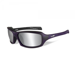 Wiley X - Sleek Lens Color: Silver Flash / Matte Violet